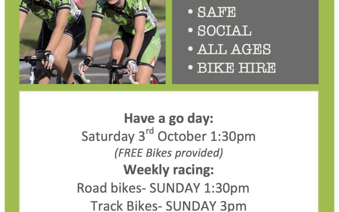 Have a go at Track Cycling!